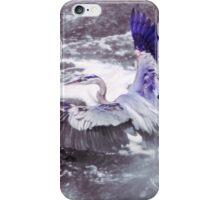 Blue Heron - Balance iPhone Case/Skin