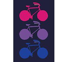 Bi-cycle Photographic Print