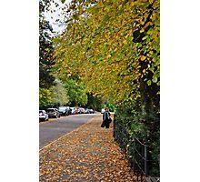 autumnal bath, england Photographic Print