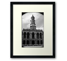 History in Adelaide Framed Print