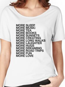More Love. Women's Relaxed Fit T-Shirt