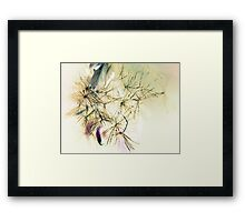 Whispers  In The Wind - Softly, Softly - Framed Print
