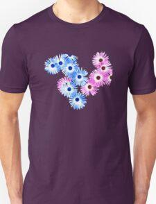 Blue/Pink Daisies T SHIRT Unisex T-Shirt