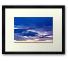 Playful colours Framed Print