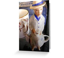 Shelf Still Life V Greeting Card