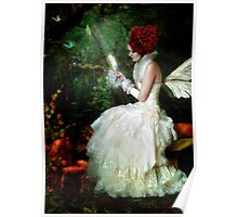 Butterfly Painter Poster