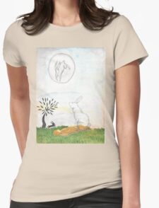 Watership Down Womens Fitted T-Shirt