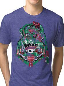 Football Pinball! Tri-blend T-Shirt