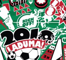 Football Pinball! Sticker