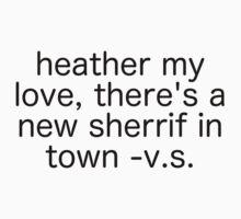 Heather My Love Kids Tee