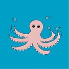 Octo the Octopus  by amak