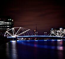 Seafarers Bridge, South Wharf, Melbourne by lennysac