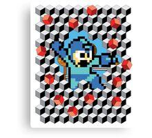 Megaman Breakout Canvas Print