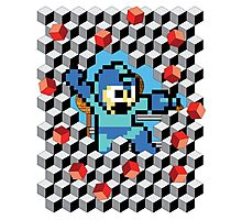 Megaman Breakout Photographic Print
