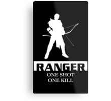 Ranger Inverted Metal Print