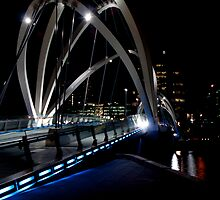 Seafarers Bridge, South Wharf, Melbourne #2 by lennysac