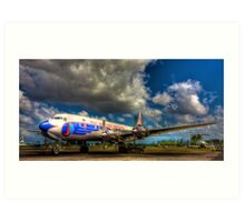 Eastern Airlines Vision of the Past Art Print