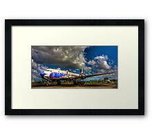 Eastern Airlines Vision of the Past Framed Print