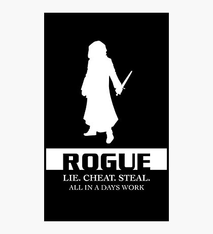 Rogue Inverted Photographic Print