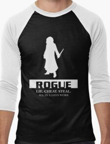 Rogue Inverted Men's Baseball ¾ T-Shirt