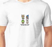 8-bit Starfox Sprites Unisex T-Shirt