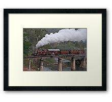 NA Returns to Walhalla Goldfield Railway Framed Print