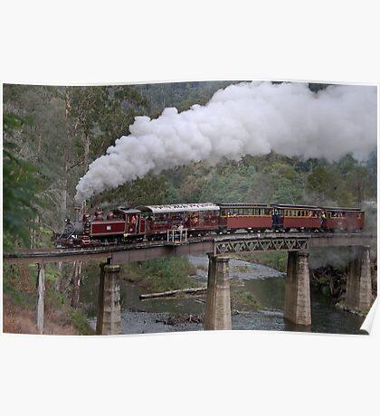 NA Returns to Walhalla Goldfield Railway Poster