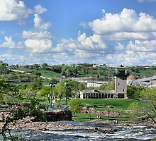 Falls Park of Sioux Falls, SD by hastypudding