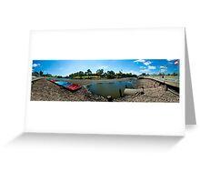 River Torrens Low Tide Greeting Card