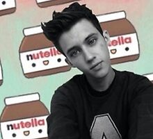 Troye + Nutella by Laura Marie