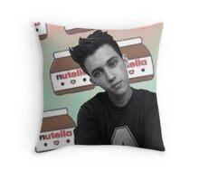 Troye + Nutella Throw Pillow