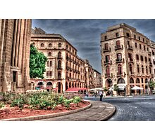 Beirut Down Town  Photographic Print