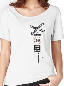 Railway Crossing Women's Relaxed Fit T-Shirt