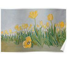 """""""DeeDee's Tulips"""" Poster"""