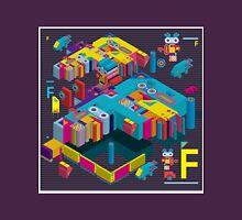 F graphics pattern 3 Unisex T-Shirt