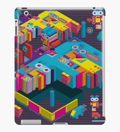 F graphics pattern 3 iPad Case/Skin