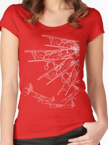 The Stearman Gift of Flight Women's Fitted Scoop T-Shirt