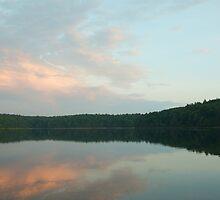 Dawn at Walden Pond by Jack Bridges
