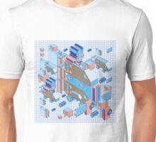 F graphics pattern 4 Unisex T-Shirt