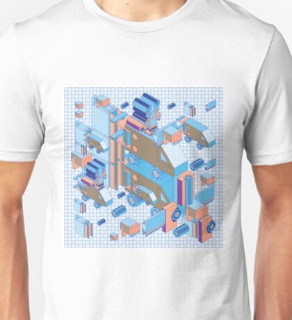 F graphics pattern 4 Unisex T-Shirt