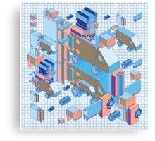F graphics pattern 4 Canvas Print