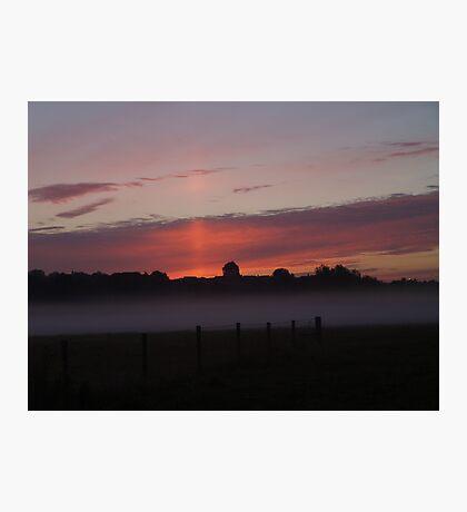 Misty layer Photographic Print