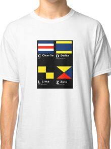 Hidden Meaning in Flags Classic T-Shirt