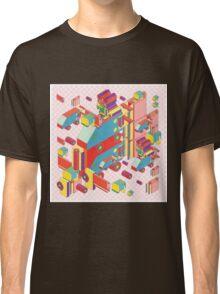 machine of robot vintage isometric Classic T-Shirt
