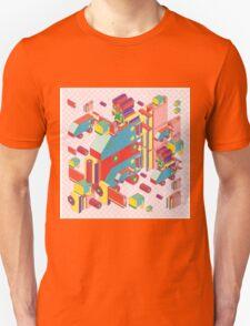 machine of robot vintage isometric T-Shirt