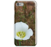 Colorado Red Rocks Wildflower  iPhone Case/Skin
