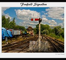 Foxfield Signalbox Framed by Aggpup