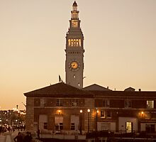 The Ferry Building - San Francisco by Kimberly Palmer