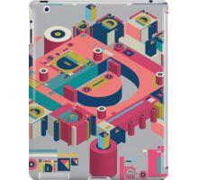 alphabet 3D letter D iPad Case/Skin