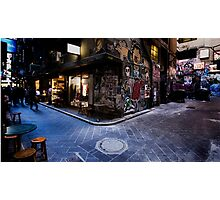 Centre Place, Melbourne Photographic Print